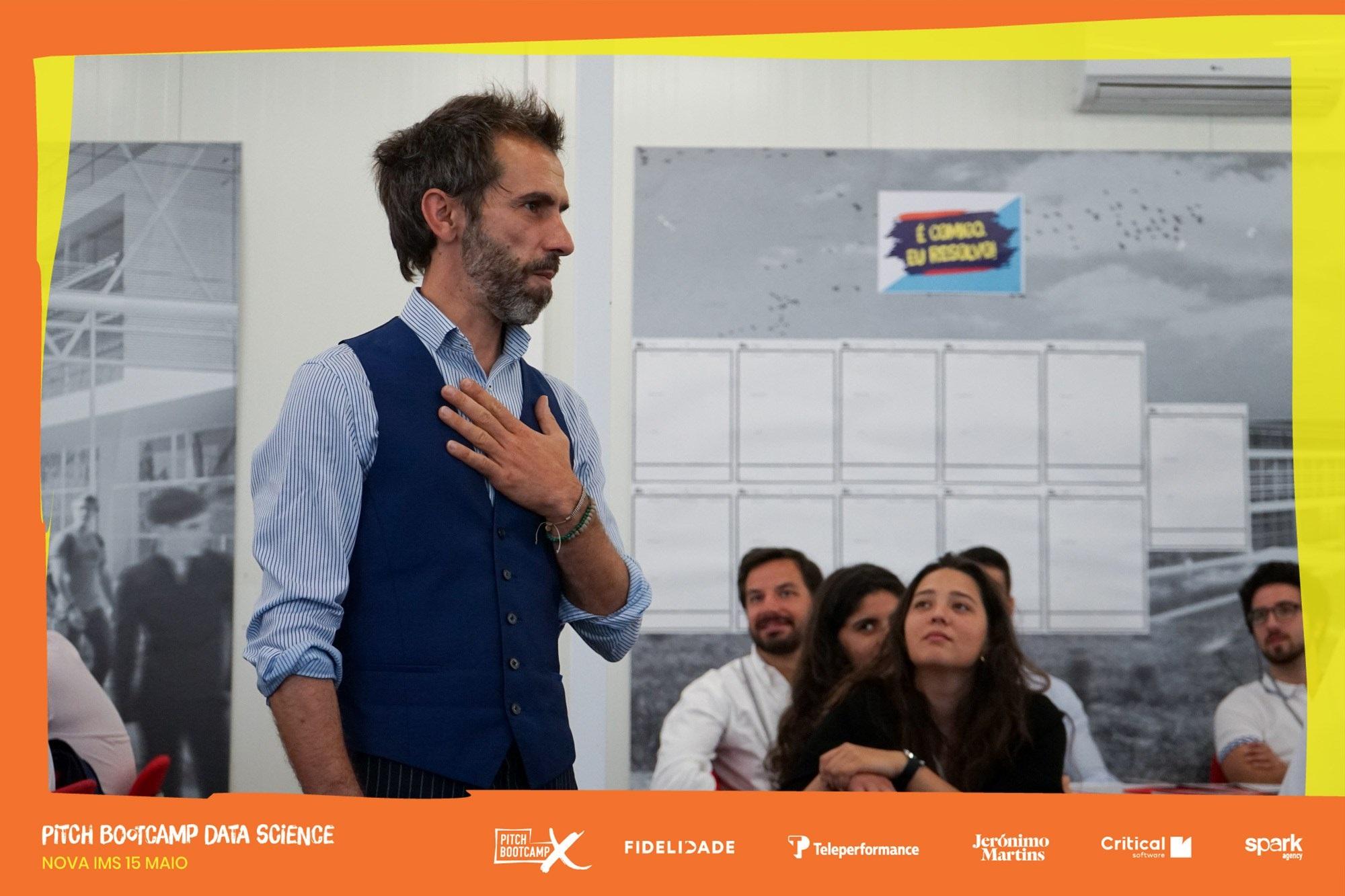 Miguel Gonçalves @ Pitch Bootcamp Lisbon